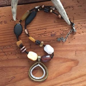 Silpada two toned necklace